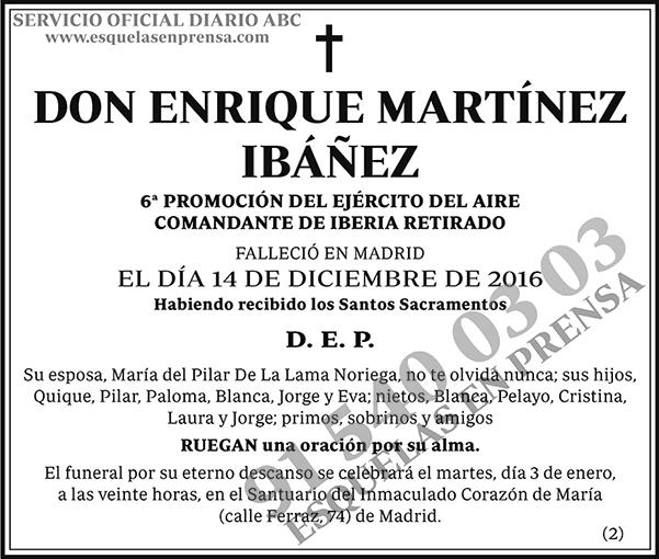 Enrique Martínez Ibáñez